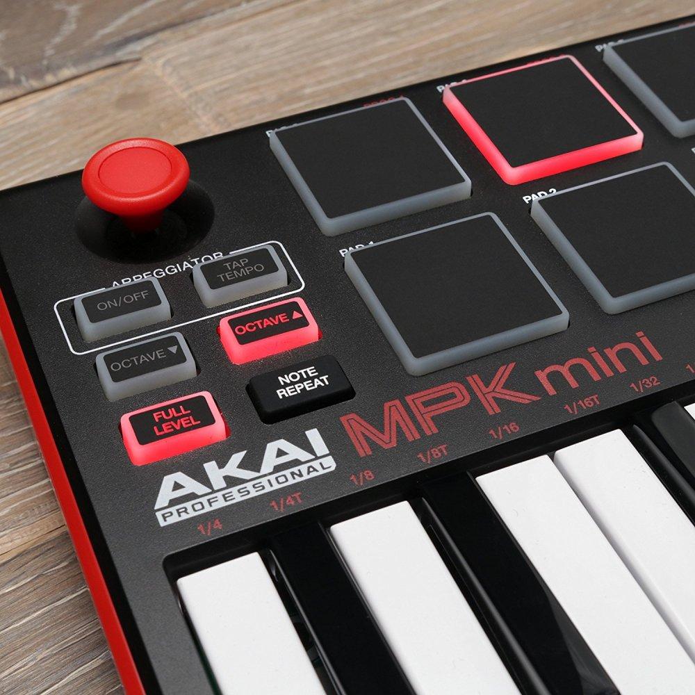 AKAI MPK Pro Midi Keyboard Backlit