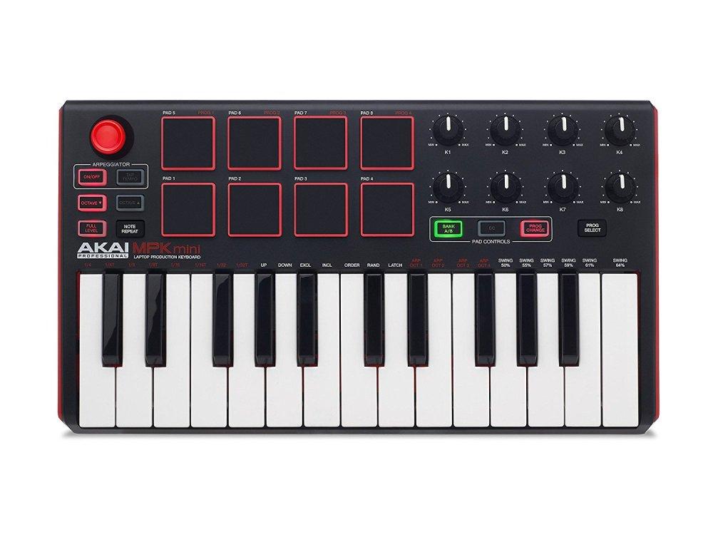 AKAI MPK Pro Midi Keyboard Top