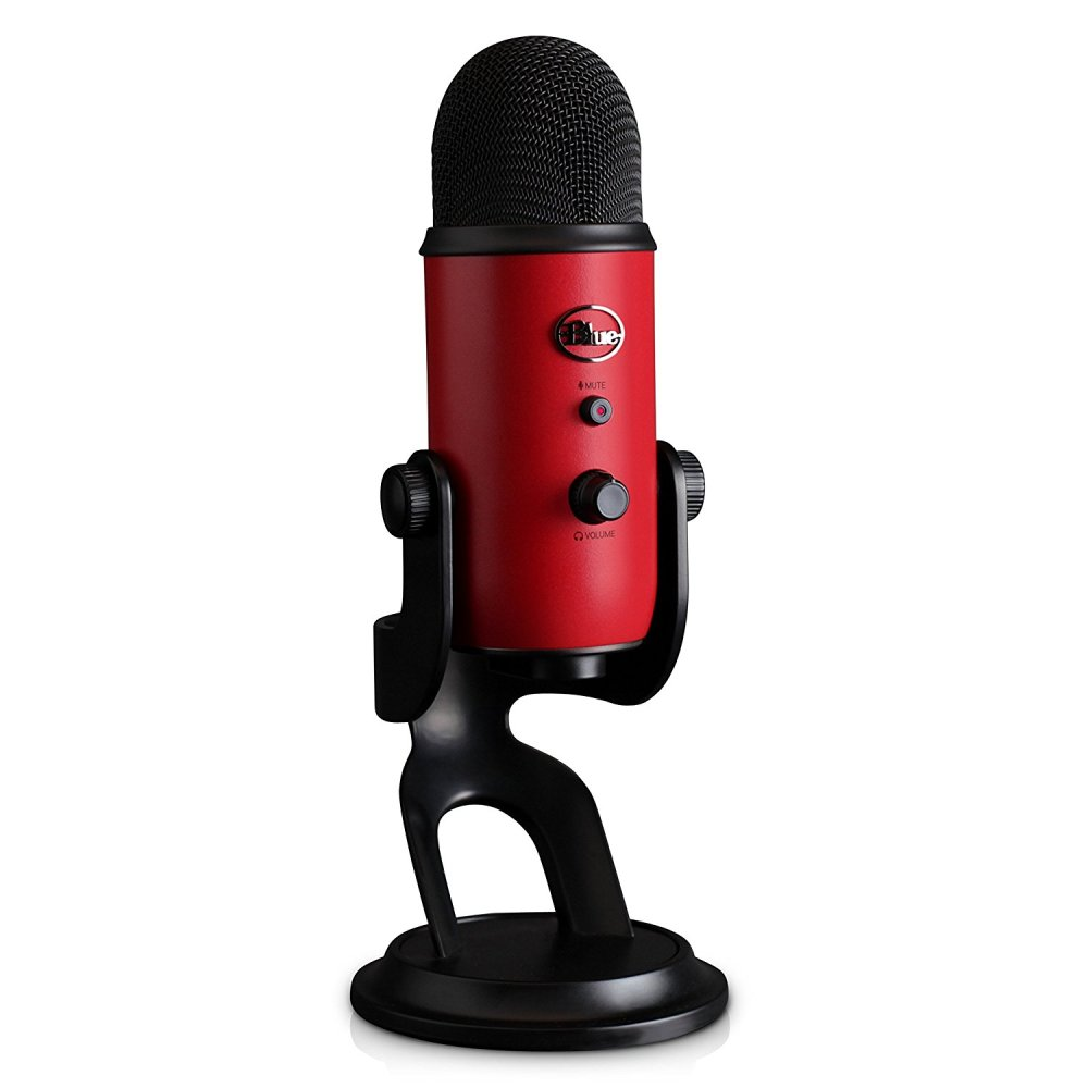 Blue Yeti Microphone Front