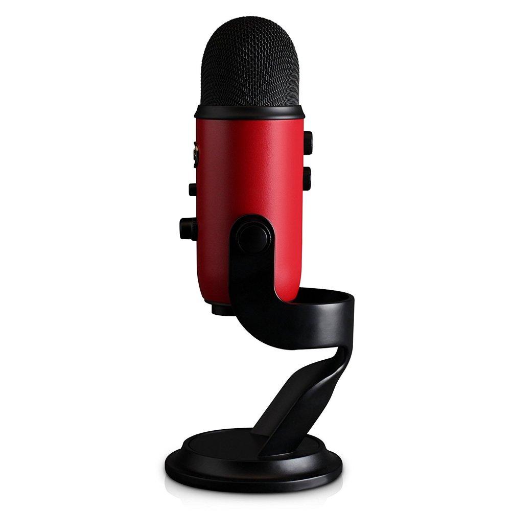Blue Yeti Microphone Side