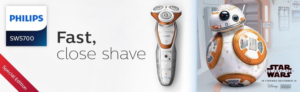 Philips Star Wars BB8 Electric Shaver Banner