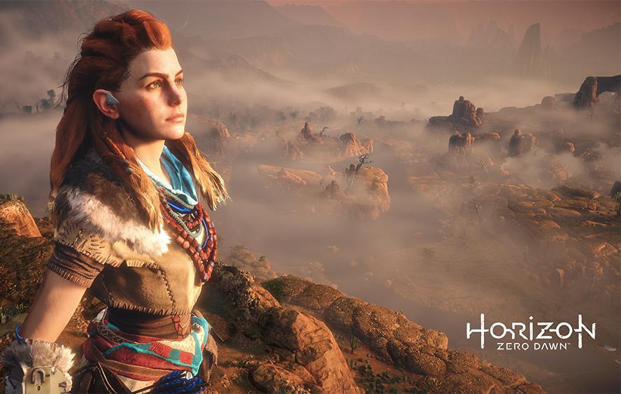 PS4 Pro Horizon Zero Dawn