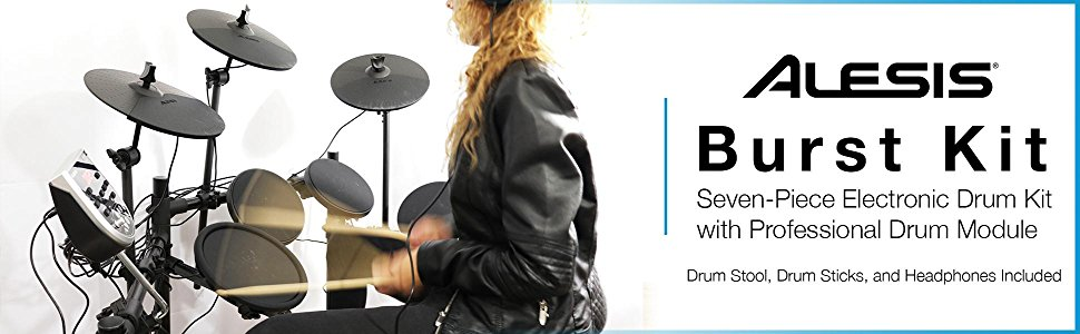 Alesis Elctronic Drum Kit Bundle Banner