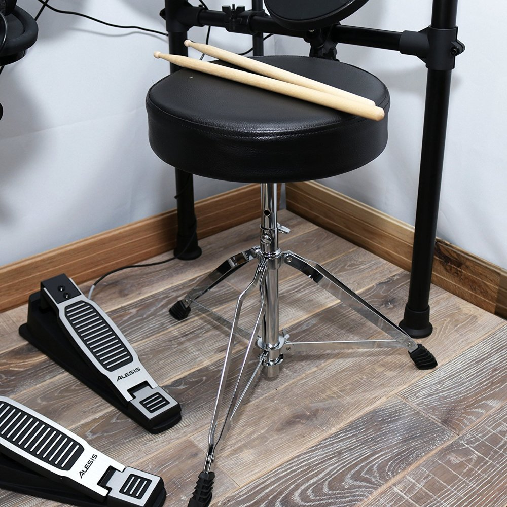 Alesis Elctronic Drum Kit Bundle Stool and Pedals