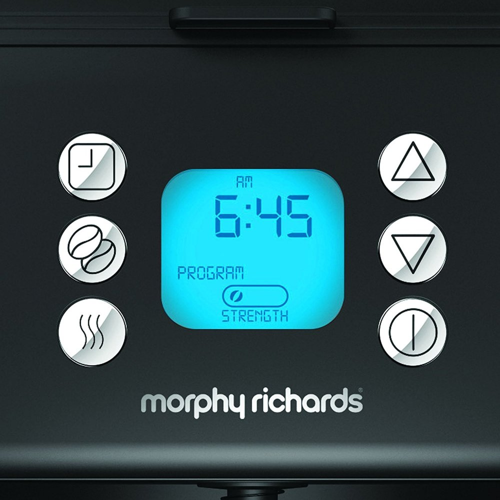 Morphy Richards Coffee Maker Buttons