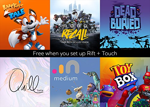 Oculus Rift and Touch Free Games