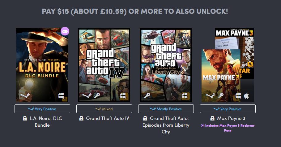 Fifteen Dollar Games Rockstar