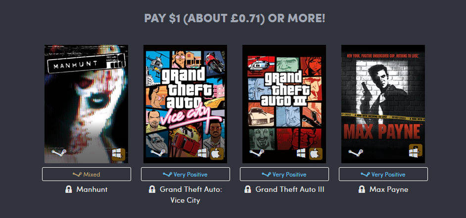 One Dollar Games Rockstar